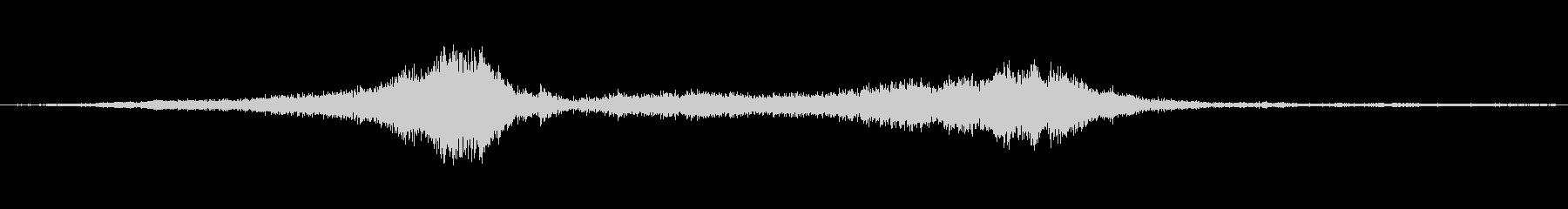 1978シェビーヴァン:速く走り、...の未再生の波形