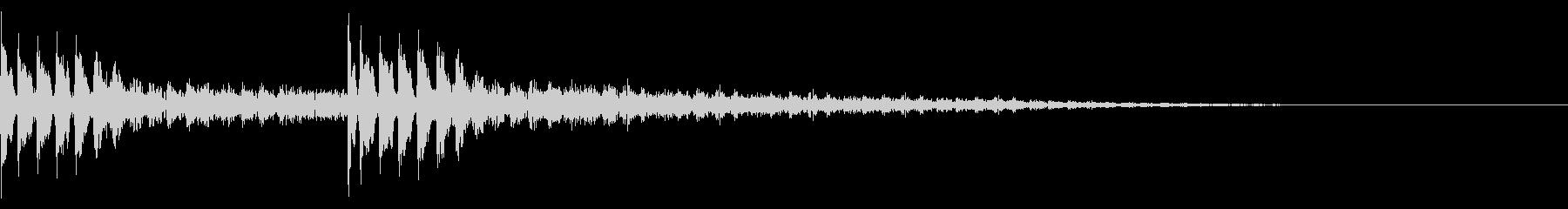 TVFX ビヨーンとヘンテコなSE 4の未再生の波形