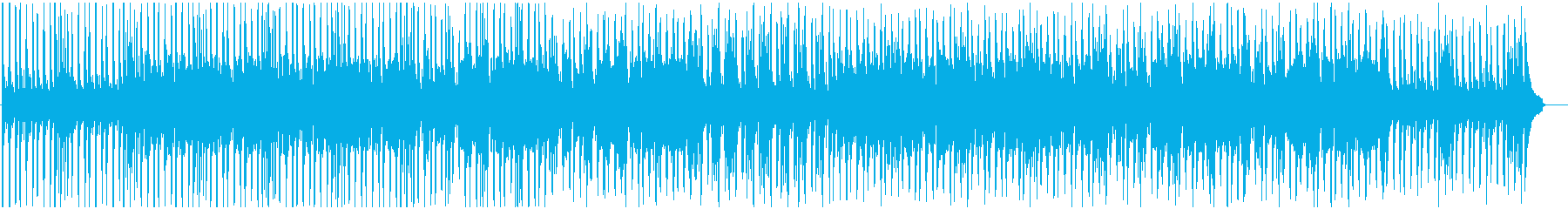 ほのぼの日常BGM バイオリン有りの再生済みの波形