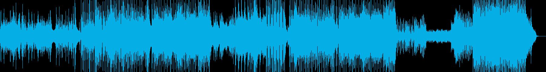 後半劇的・J-Pop風バラード ★L+の再生済みの波形