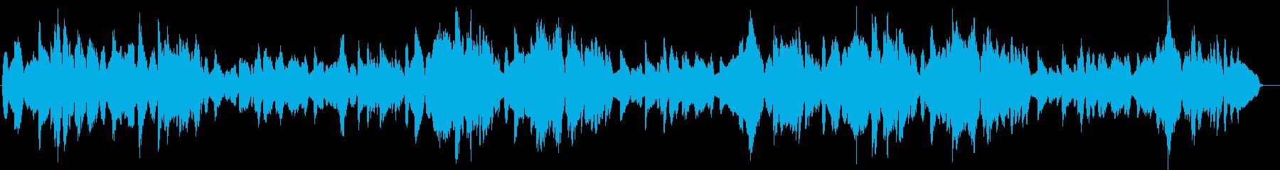 夢見心地のチェロが優しく歌うトロイメライの再生済みの波形