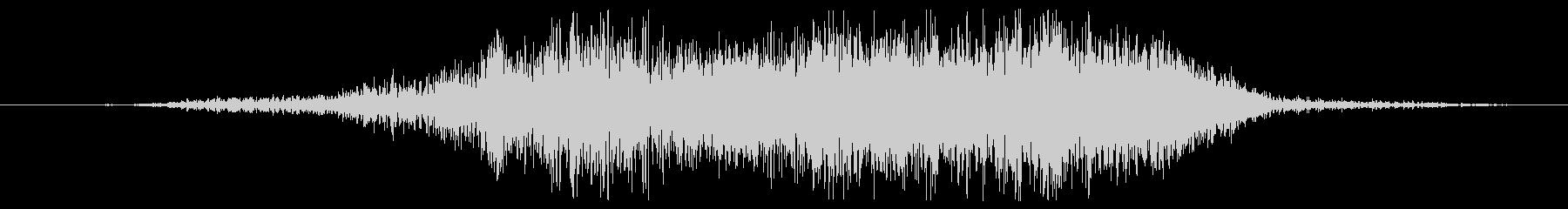 モンスタースクリーム01の未再生の波形