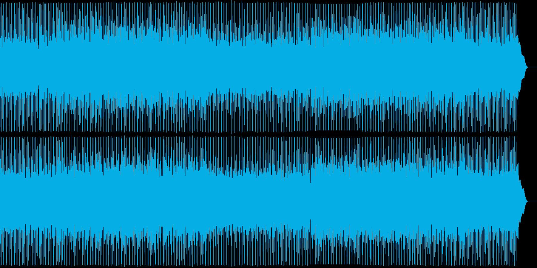 爽やかなアップテンポのギターポップ。の再生済みの波形