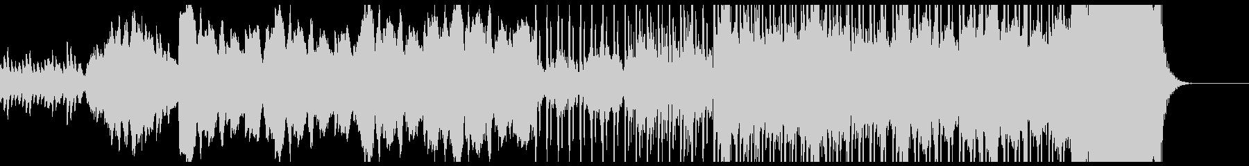 ハロウィン向け怪しいベルのBGMの未再生の波形
