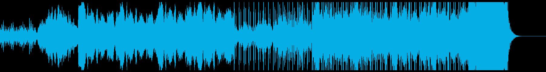 ハロウィン向け怪しいベルのBGMの再生済みの波形
