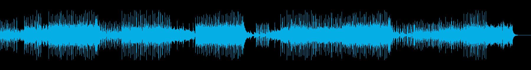 ヒップホップエレクトロインストゥル...の再生済みの波形