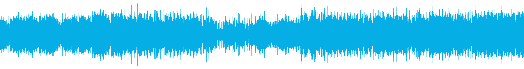 Loop, fashionable and gorgeous woman, R & B's reproduced waveform