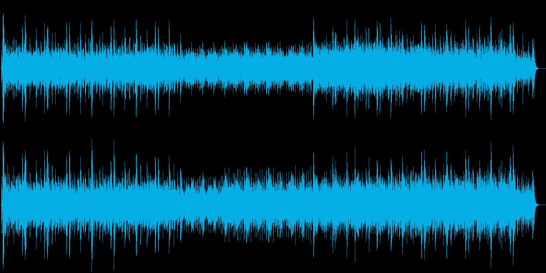 カントリー、アイリッシュ風ヴァイオリン生の再生済みの波形