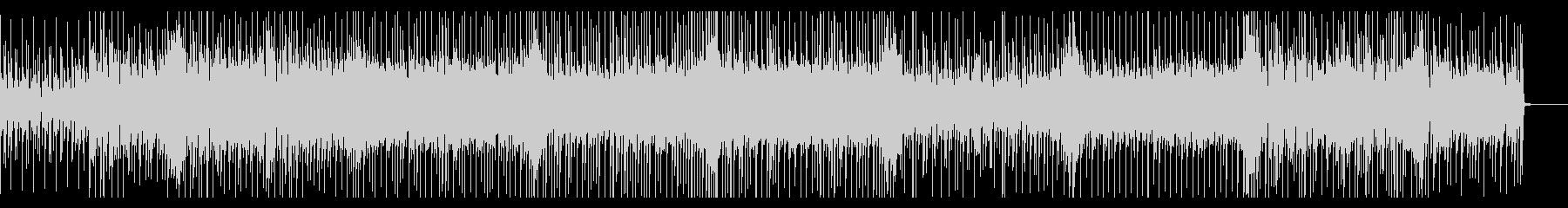 明るく軽快なリズムのポップスの未再生の波形