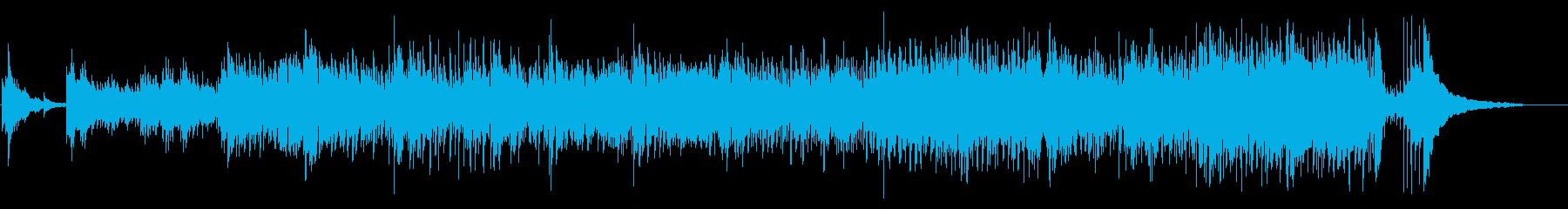 生意気なアイリッシュドラムを演奏し...の再生済みの波形