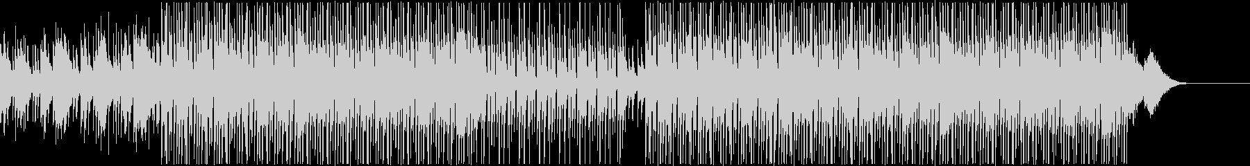 チルアウト/リラックス・おしゃれなBGMの未再生の波形