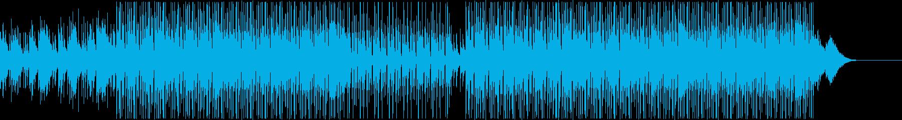 チルアウト/リラックス・おしゃれなBGMの再生済みの波形