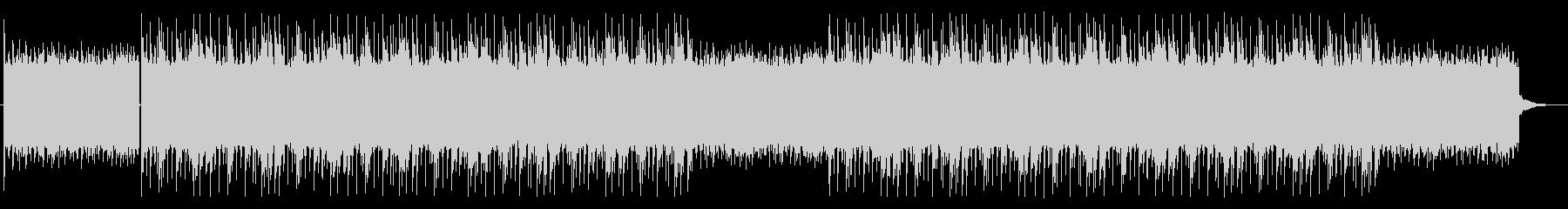 トーク番組、ラジオ、シンプルなBGMの未再生の波形
