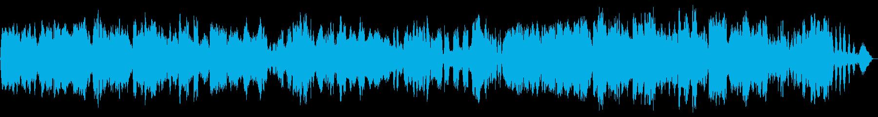 やさしい雰囲気に包まれるクラシック曲の再生済みの波形