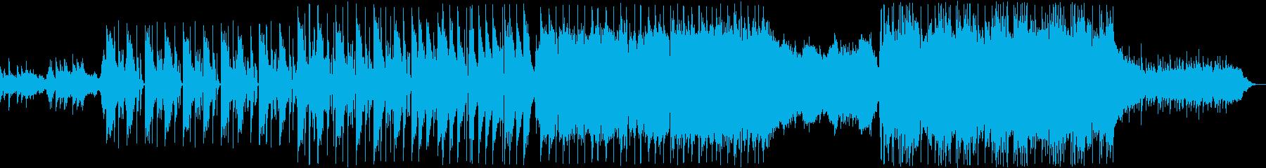 宇宙をイメージした幻想的なエレクトロの再生済みの波形
