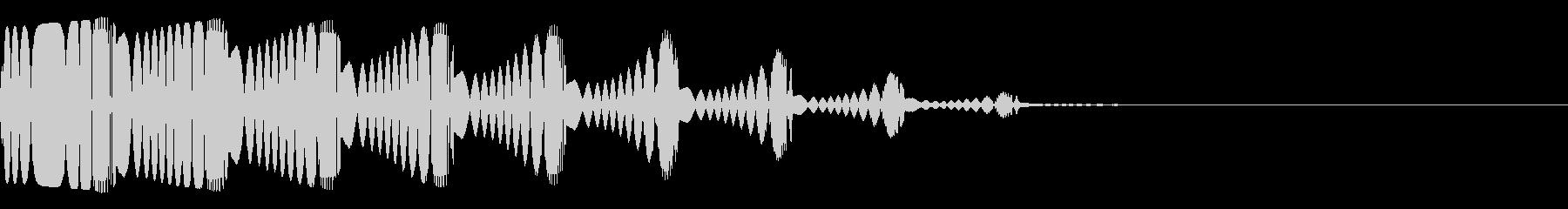 ピヨピヨ(ミス/変身/死亡ゲームオーバーの未再生の波形