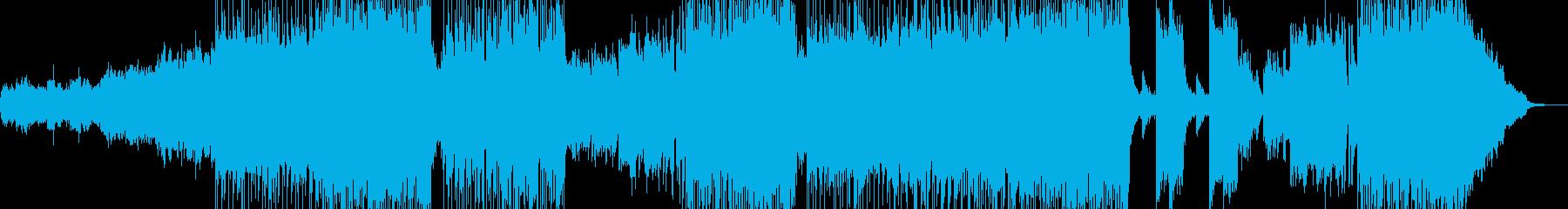 不穏な雰囲気・バトルシーン・邪悪なロックの再生済みの波形