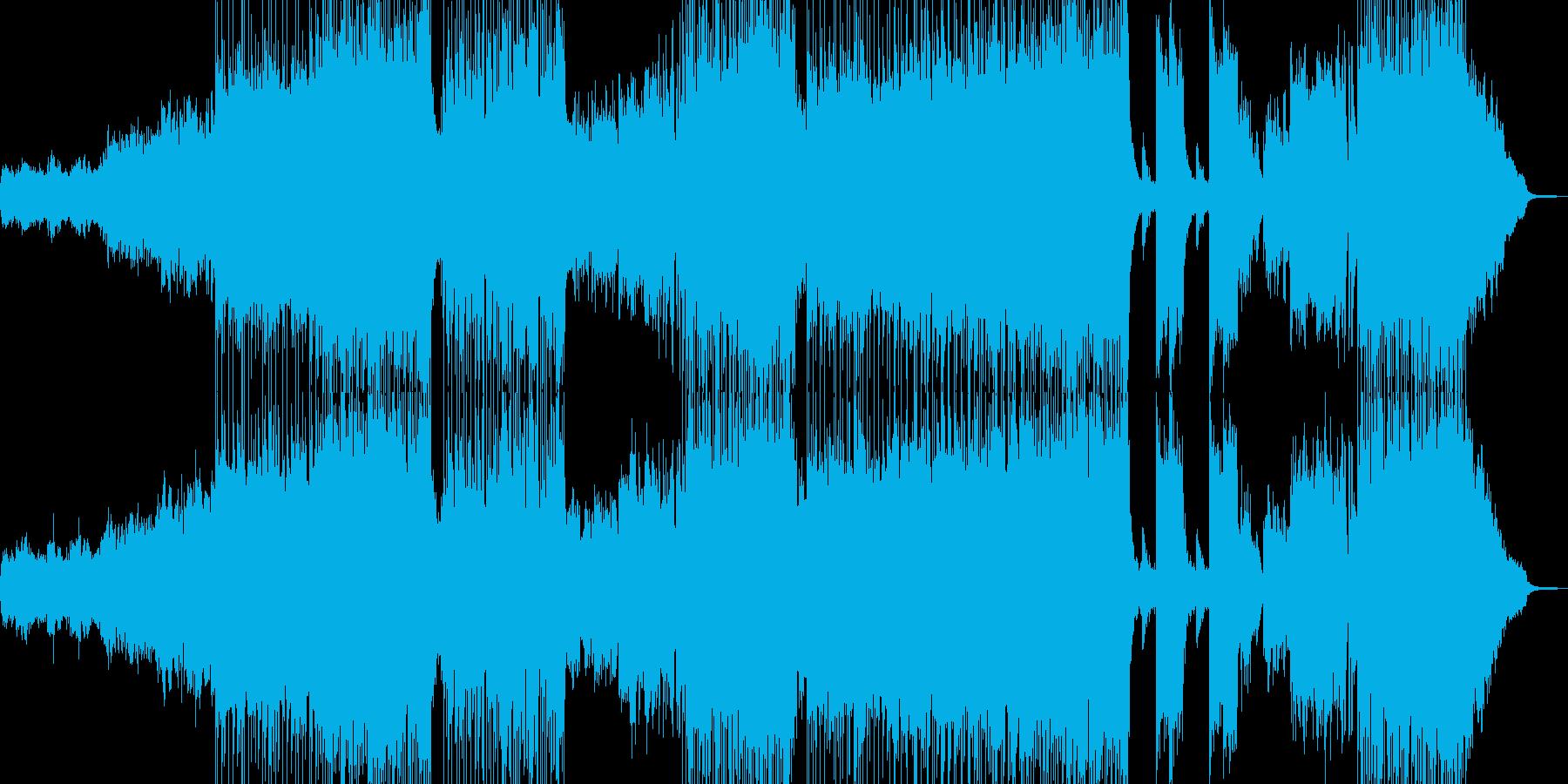 漆黒の闇 ラスボス現る前兆 変拍子ロックの再生済みの波形
