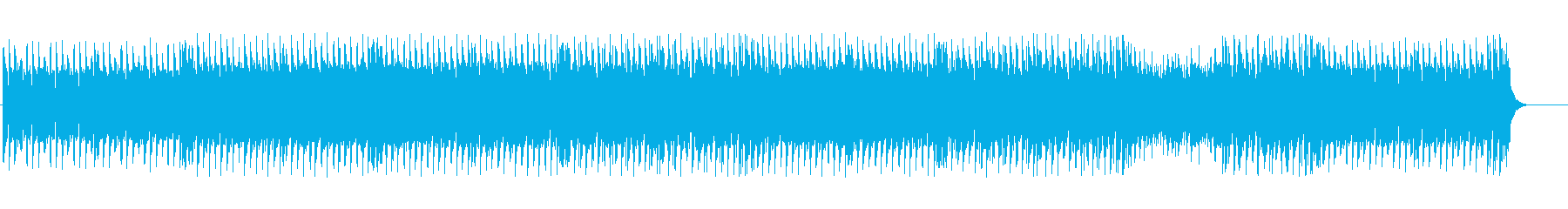Fantastic and cute techno BGM's reproduced waveform
