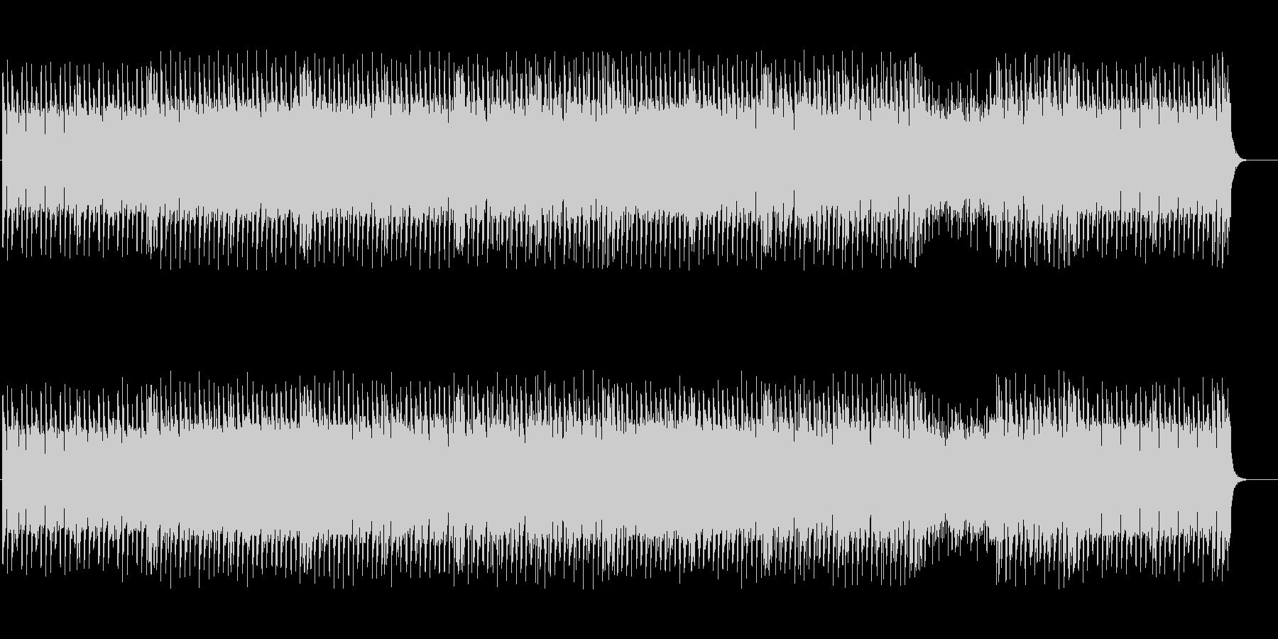 ファンタジックで可愛いテクノBGMの未再生の波形
