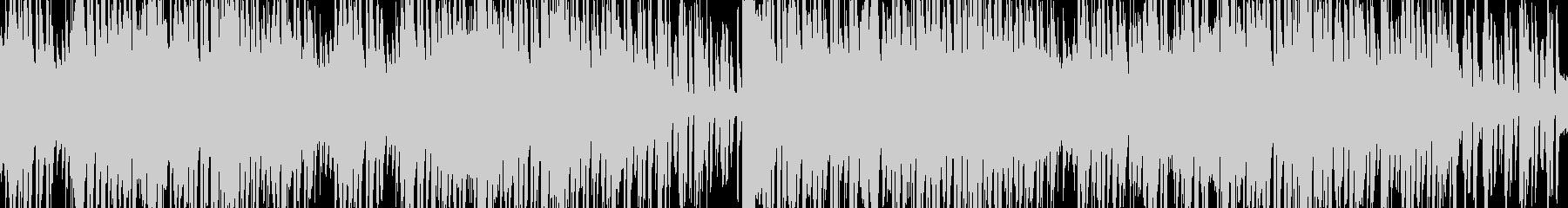 バー、喫茶店イメージのオシャレなピアノの未再生の波形