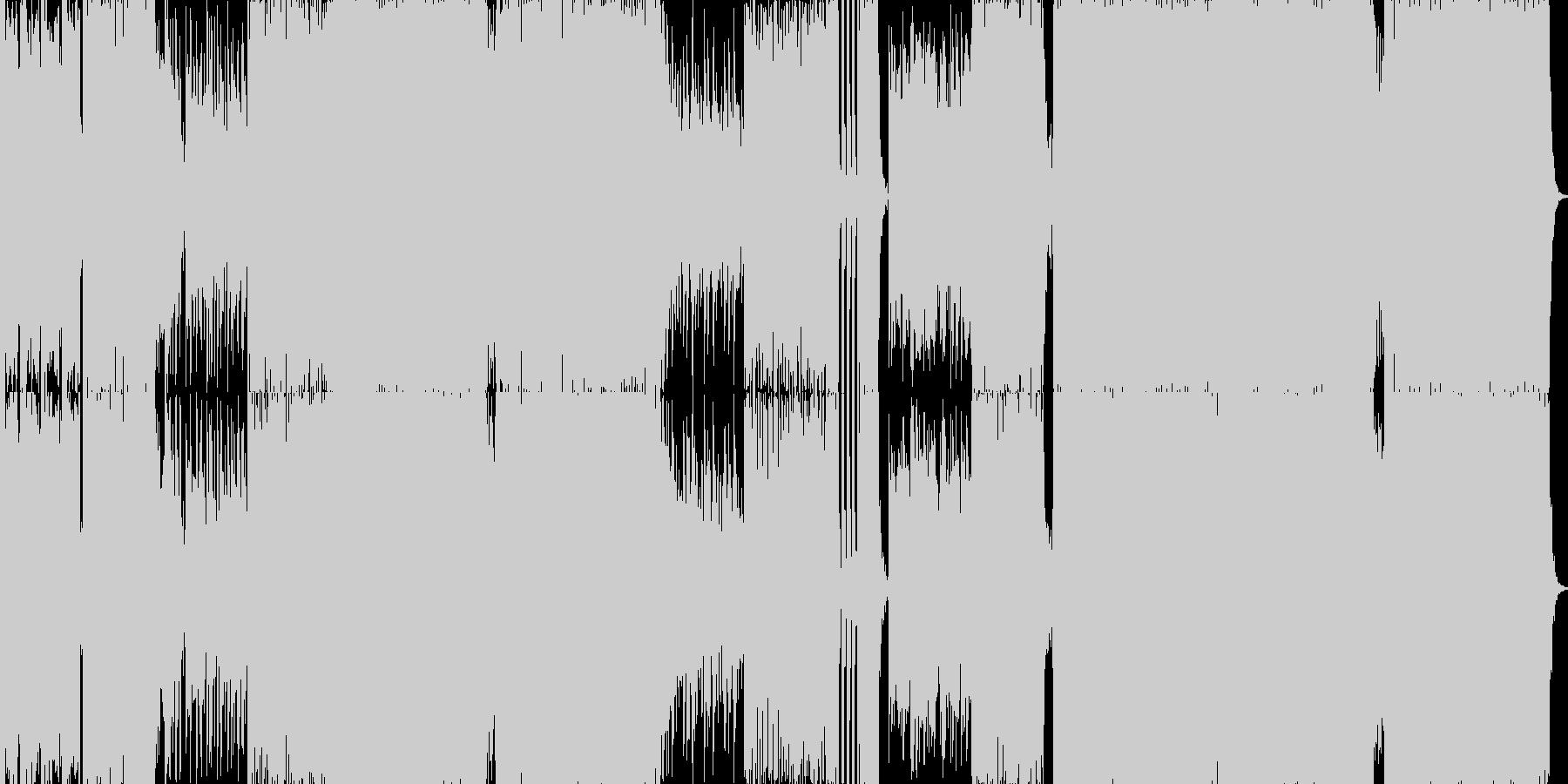 ゲームミュージック カッコいいcool…の未再生の波形