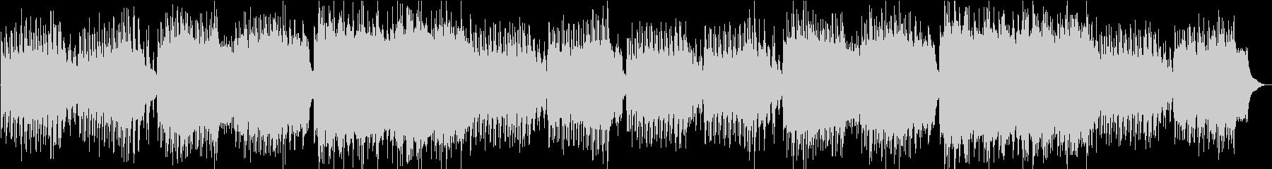 ユーモレスク オルゴールオーケストラの未再生の波形