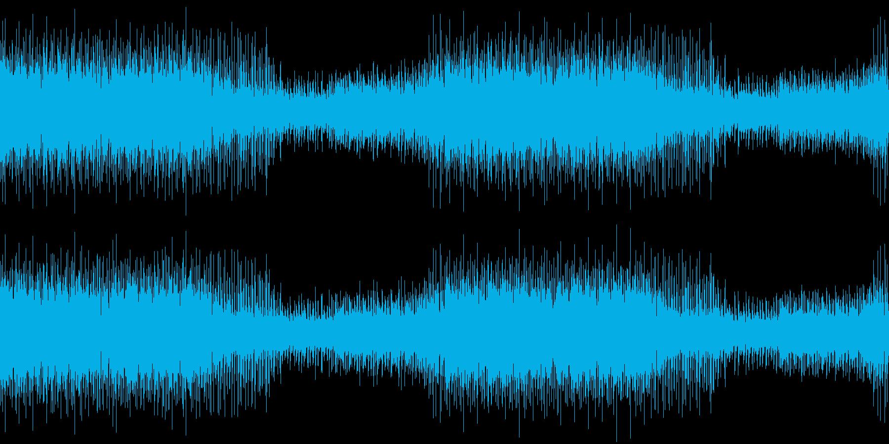 爽やかエキサイティング・スポーツEDMの再生済みの波形