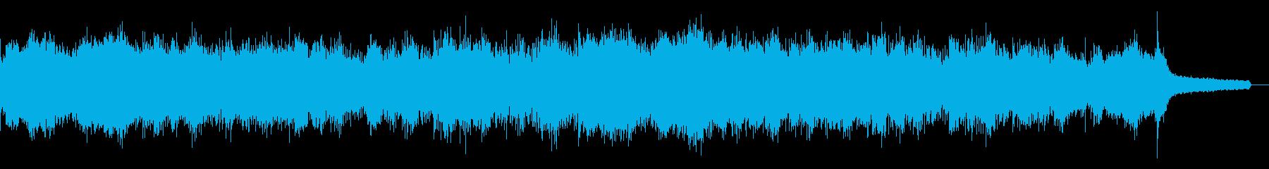 不思議なインダストリアルの再生済みの波形
