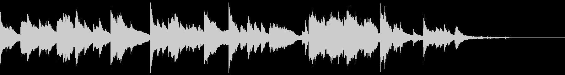 ピアノソロ・ポストクラシカル・幻想的の未再生の波形
