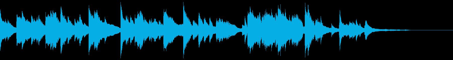 ピアノソロ・ポストクラシカル・幻想的の再生済みの波形