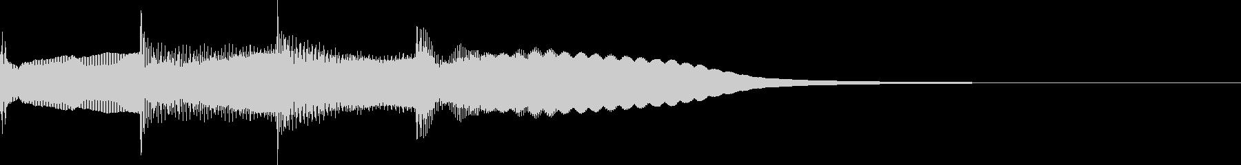 【放送】ピンポンパンポーン↑の未再生の波形