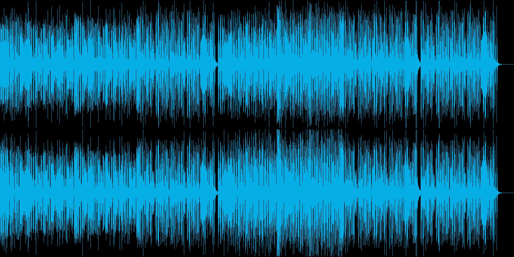 口笛が陽気でご機嫌なジャズの再生済みの波形