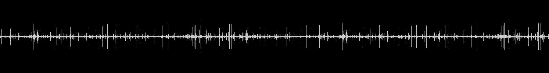 レコードノイズ Lofi ヴァイナル04の未再生の波形