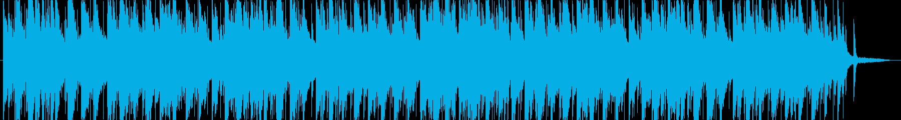おしゃれなジャズの再生済みの波形