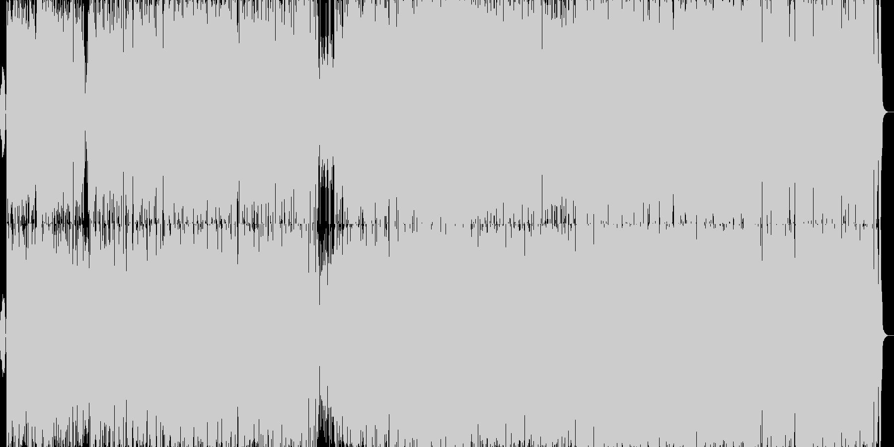 スキャットラテンジャズの未再生の波形
