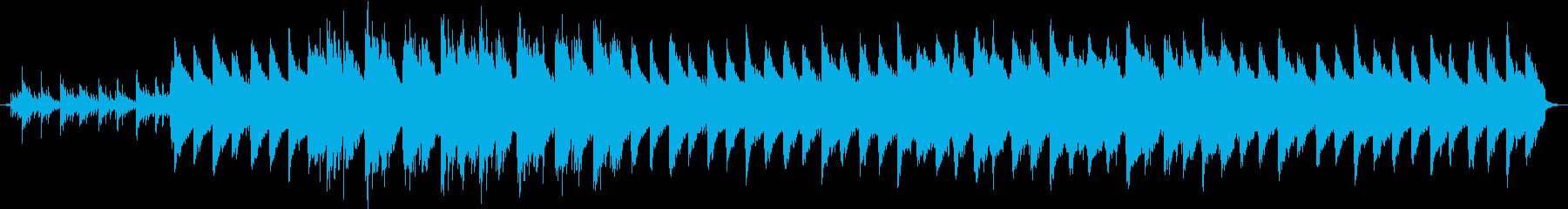 感動のシーン、切ないピアノのバラードの再生済みの波形
