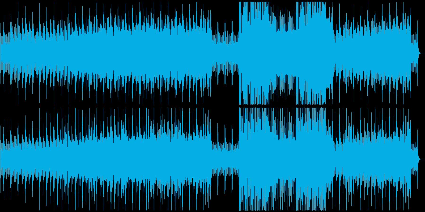 娯楽作品に独創的な音楽をの再生済みの波形