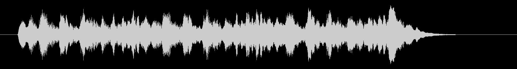 優しいシンセサウンド(神秘、宇宙)の未再生の波形