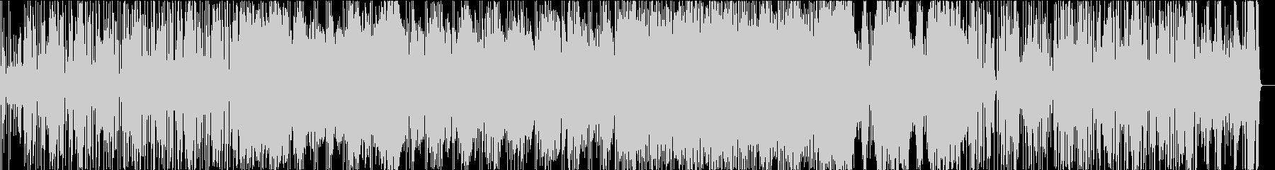 ジャズ・ファンクテイストのギターインストの未再生の波形