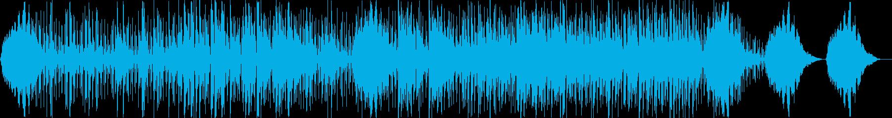 ピアノフォルテの雰囲気。逆音、スピ...の再生済みの波形