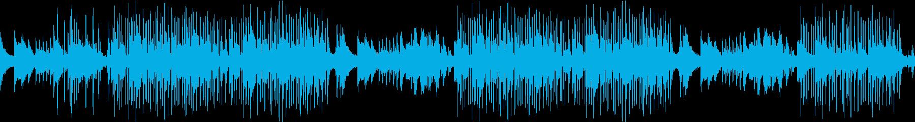 レトロ・ピアノ・怖い・寂しい・ループの再生済みの波形
