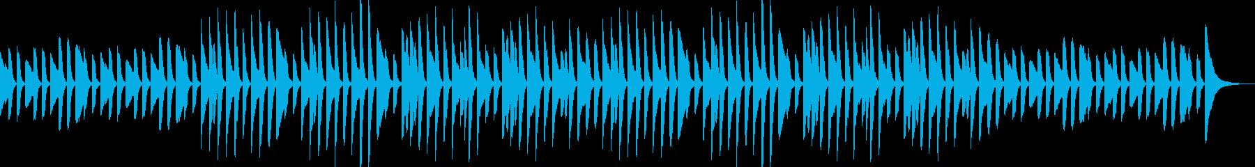 YouTube・日常・会話・ピアノソロの再生済みの波形