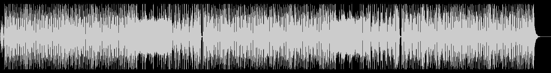 ビーチサイドに、ゆったりとしたインストの未再生の波形