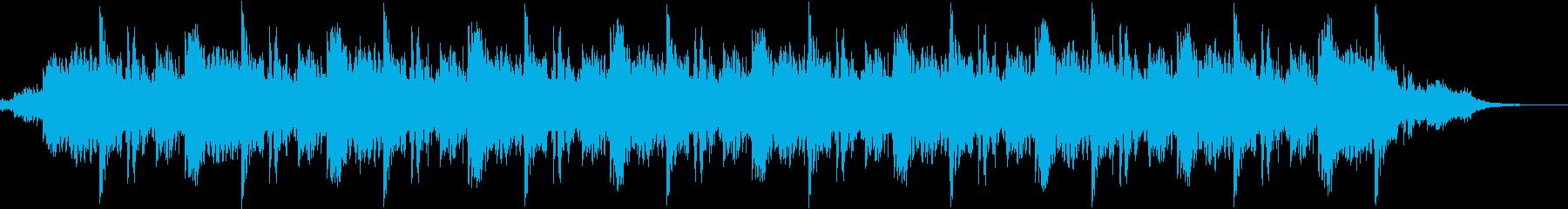 ショールーム等の神秘的なBGMの再生済みの波形