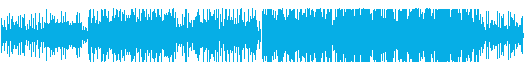 切ないメロディーが印象的な楽曲の再生済みの波形