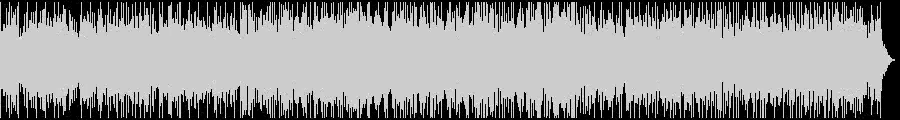 ほのぼのとしたケルティック風BGMの未再生の波形