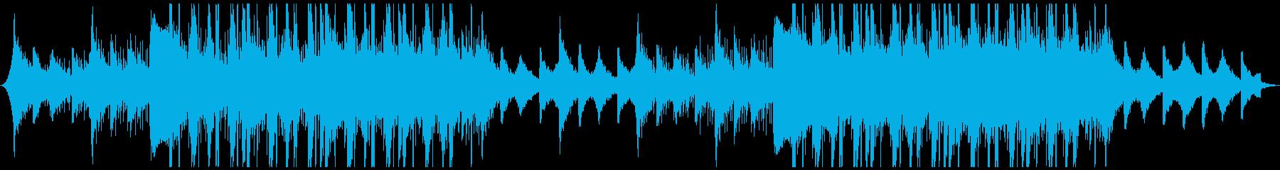ハイテク企業音楽の再生済みの波形
