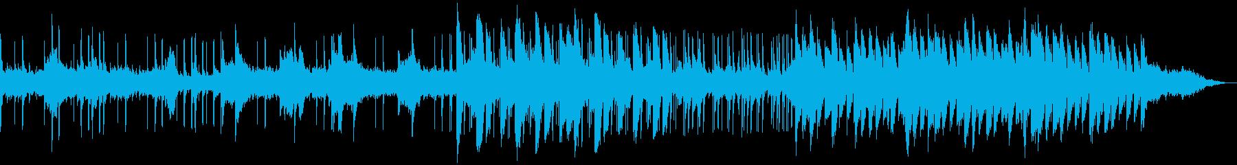 オシャレハウスなchill beatの再生済みの波形