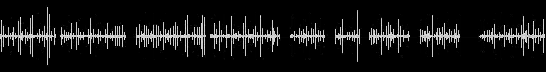 電気ザップの未再生の波形